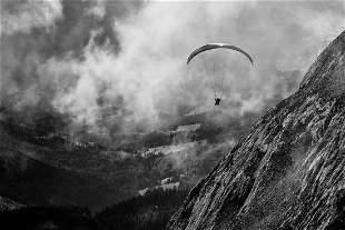 "VALERII TKACHENKO ""Man over clouds"""