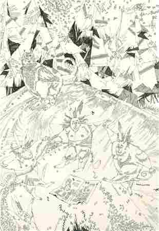 "RUSLANA ANICHYNA ""January dance of bunnies around"