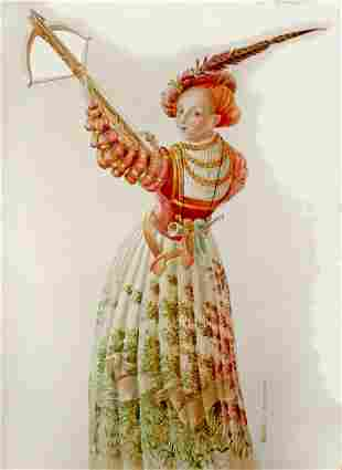 """TETIANA BAKHTOVA """"Lady with a crossbow. Inspired by"""