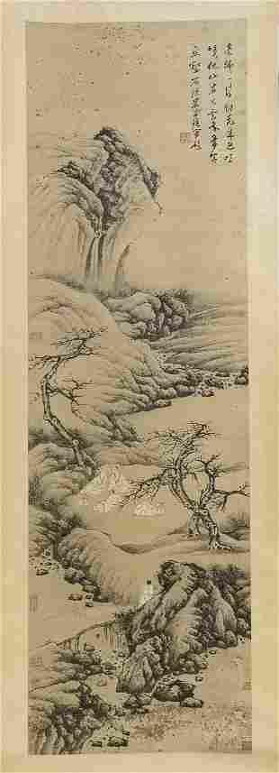 Mi Wanzhong, landscape figure