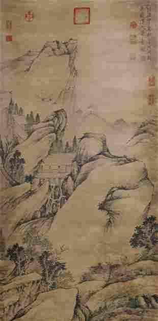 Shen Zhou, landscape character