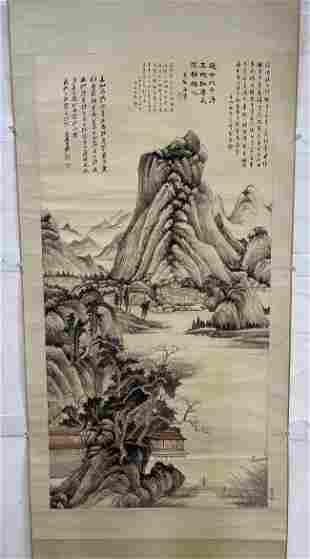 Zhang Daqian, landscape painting