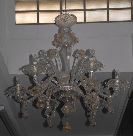 Lampadari In Vetro Soffiato.Lampadario Sei Luci In Vetro Soffiato Di Murano Oct 10 2019 Viscontea Casa D Aste Srl In Italy