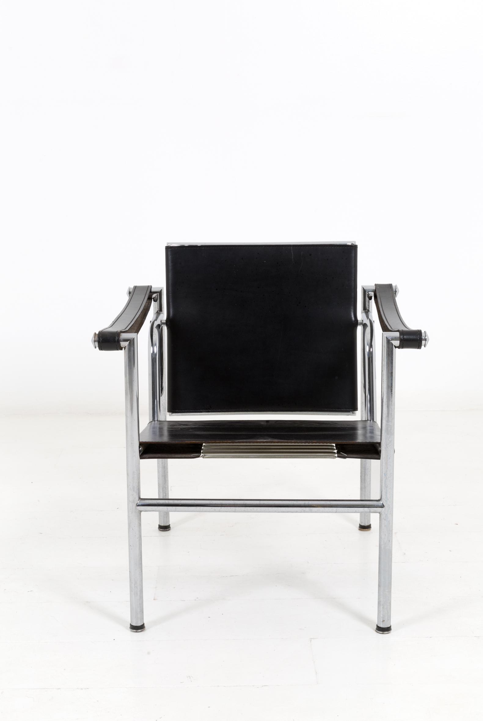 LE CORBUSIER. LC1 armchair. Unknown production