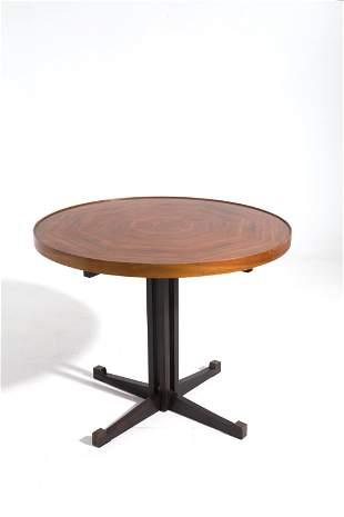 VITTORIO GREGOTTI (Attr). Wooden table. 1950s