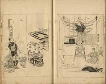 Japanese Woodblock Prints Gekko Ogata 18591920 Ehon