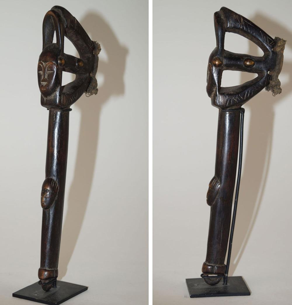 African Art Hammer for musical instrument Lowre, Ivory