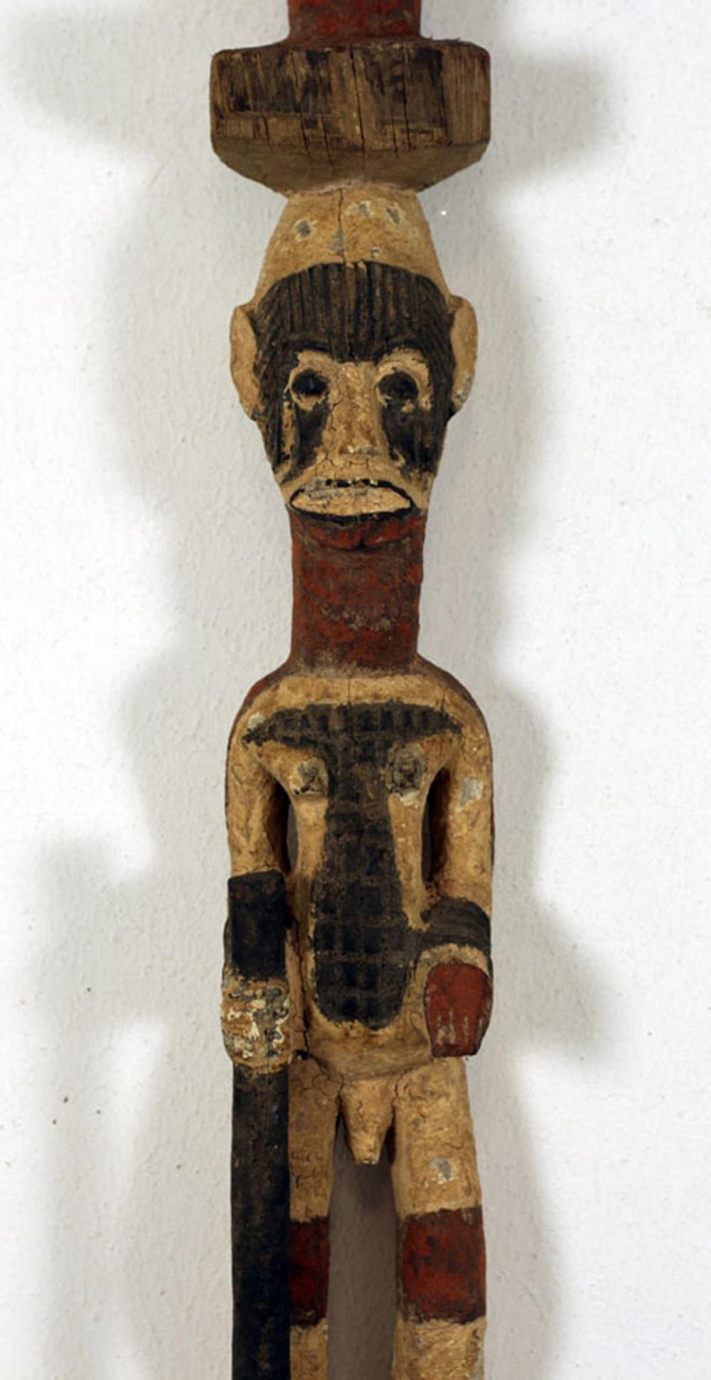 African Art Figural stake, Nigeria Ibo