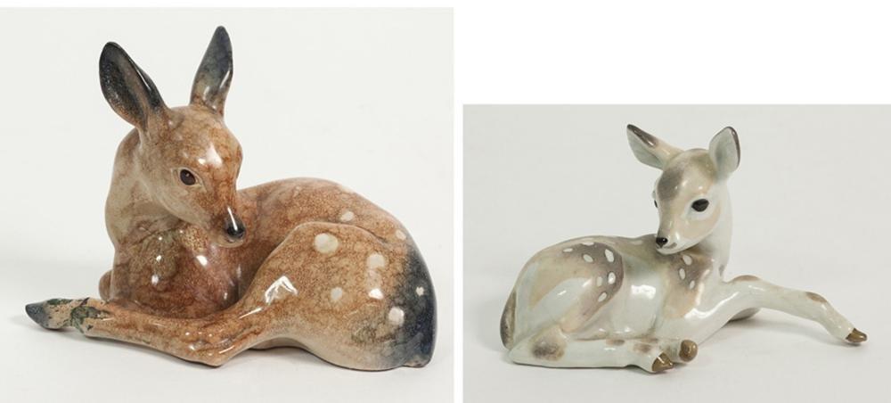 Miscellaneous ceramic figures