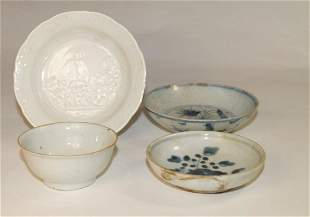 Chinese Porcelain, four pieces