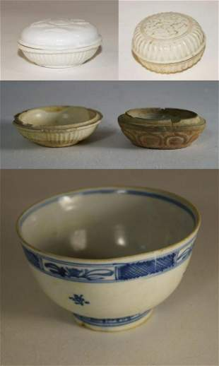 Chinese Porcelain, five pieces