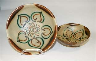 Chinese Two Changsha Style Bowls