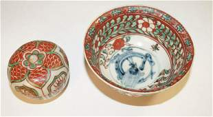 Chinese Bowl (D. 11,5 cm), Swatow style