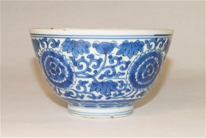 Chinese Bowl with six-character mark (d. 13.5 cm),