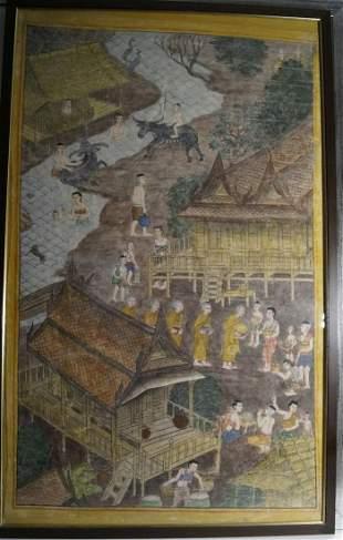 Painting, 19th century Thailand