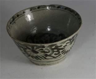 Ceramic bowl (D. 13 cm), South Asia