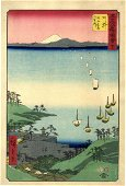 Japanese Woodblock Prints Hiroshige, Utagawa 1797-1858,