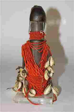 African Art , Fertility Doll, Cameroon Fali