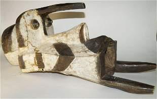 African Art , Mask, Nigeria Igbo style