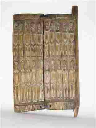 African Art , Storage door, Mali Dogon