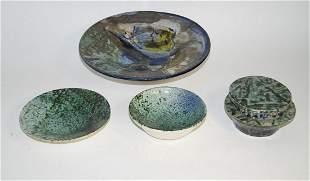 Danzer, Horst Leoben 1934 - Marl 2019 Four ceramic
