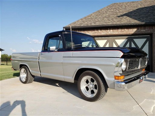 1970 Ford F100 Shortbed Pickup Truck Oct 26 2019 Tailpipe