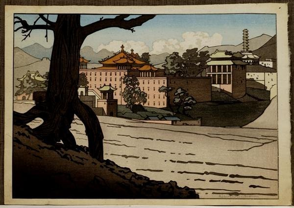 30: Old Japanese Woodblock Print Pieter Irwin Brown