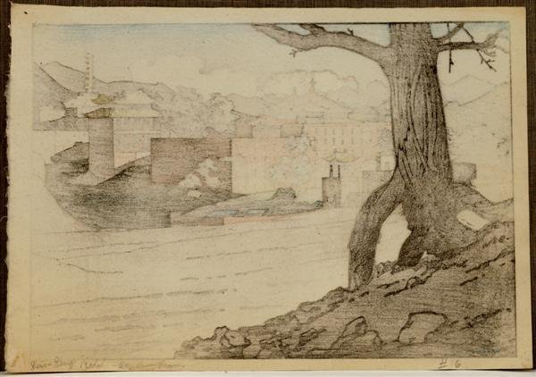 30: Old Japanese Woodblock Print Pieter Irwin Brown - 4