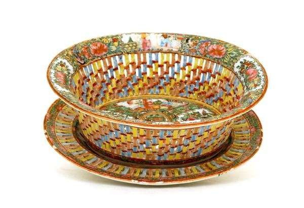 2011: Chinese Export Rose Medallion Bowl Plate