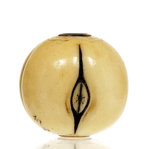 2204: Japanese Ivory Ojime Netsuke Erotica Nude Sg - 7