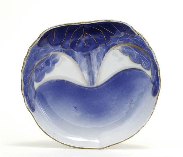 1746: Old Japanese Imari Studio Relif Plate Genroku