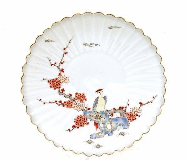 1767: Japanese Imari Kakiemon Sty Fukagawa Plate