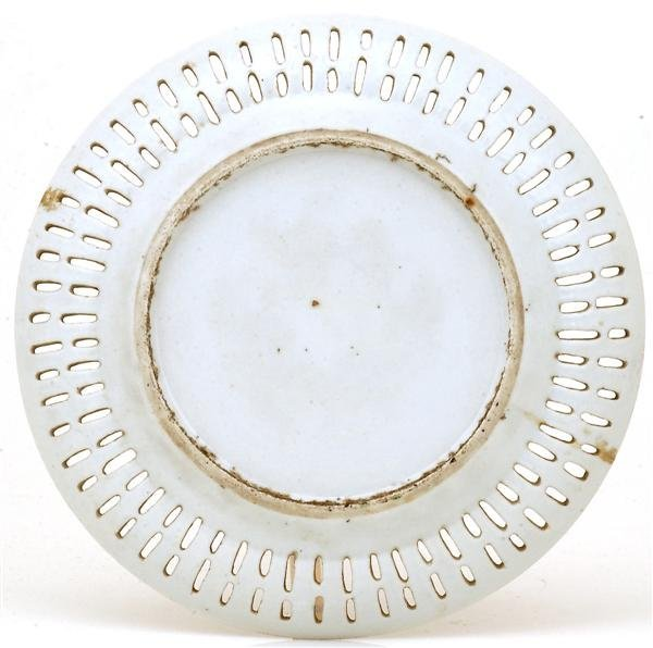 2516: 19C Chinese Export Rose Medallion Plate - 5