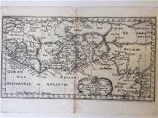 Lot of 6 Maps of Africa 1618-1813