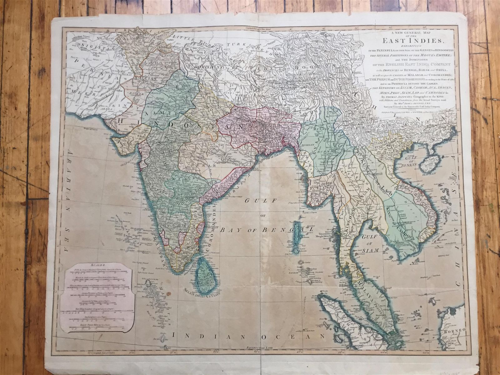 A New General Map of the East Indies.
