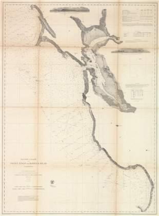 Pacific Coast, Point Pinos to Bodega Head, 1866