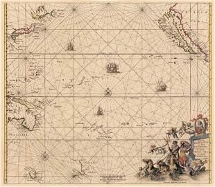 1675 - 1715 Magnum Mare del Zur Insula California...