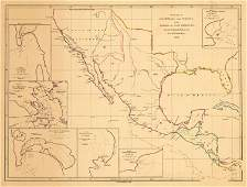 1839 The Coasts of Guatimala and Mexico from Panama to