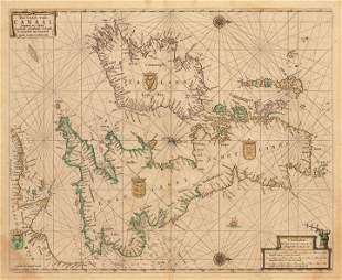 1669 Pas-Caart vant Canaal, vertoonende...
