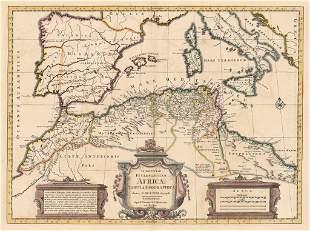 1745 In Notitiam Ecclesiasticam Africae Tabula