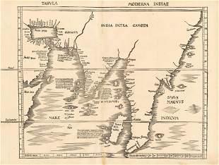 1513 Tabula Moderna Indiae