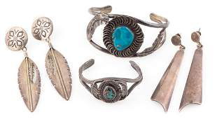 MIXED SIGNED STERLING SILVER JEWELRY