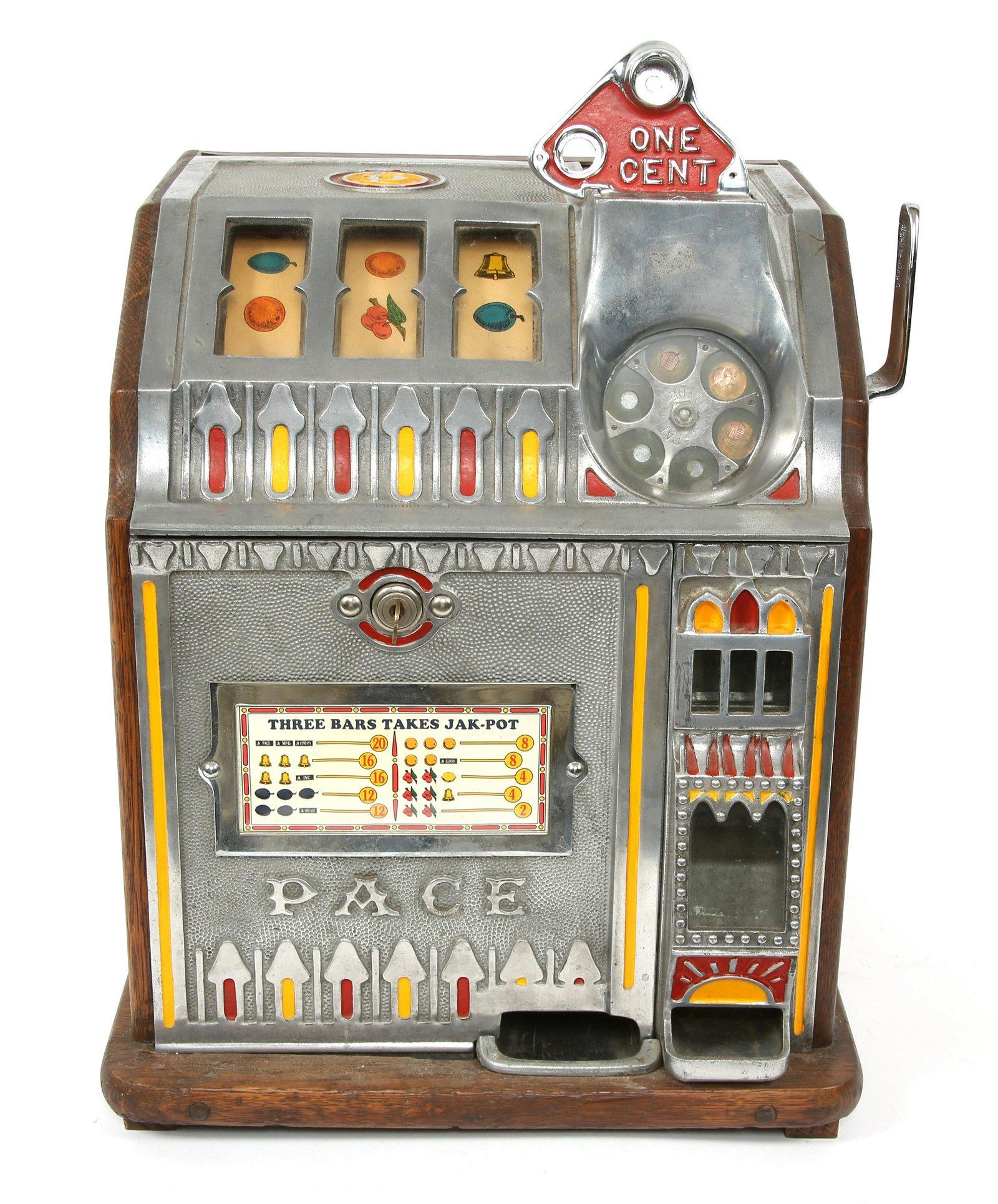 PACE BANTAM 1 CENT SLOT MACHINE