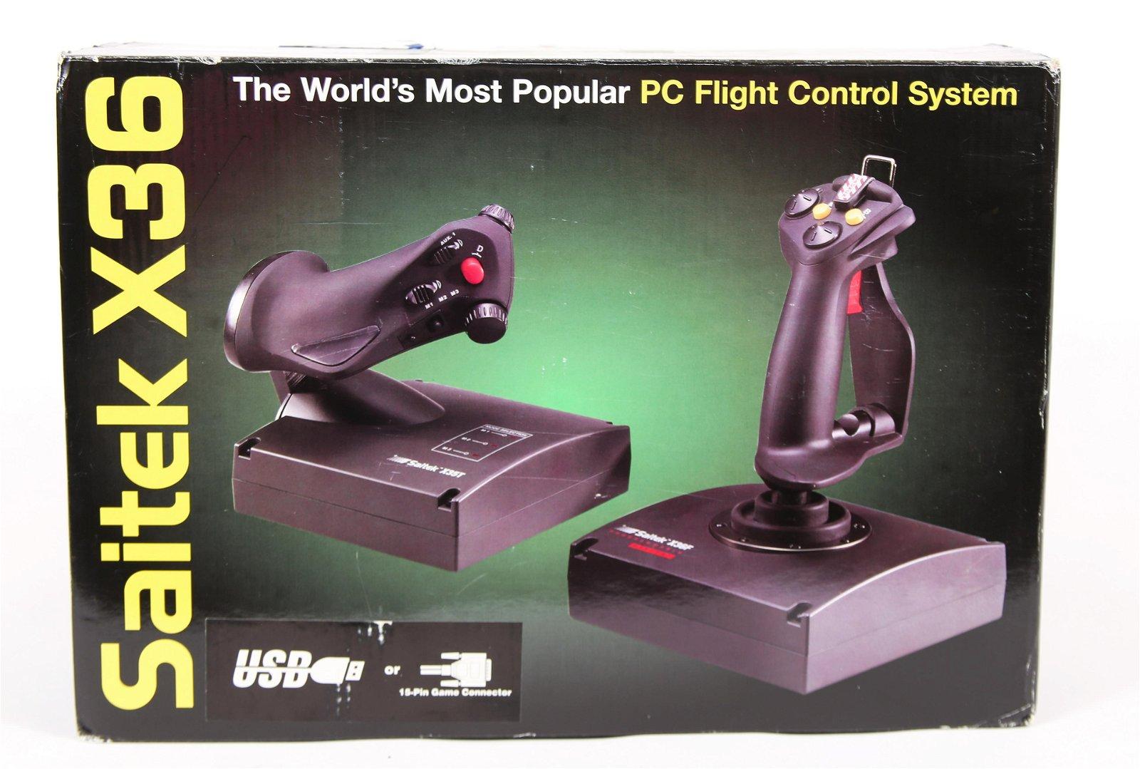 SAITEK X36 PC FLIGHT CONTROL SYSTEM