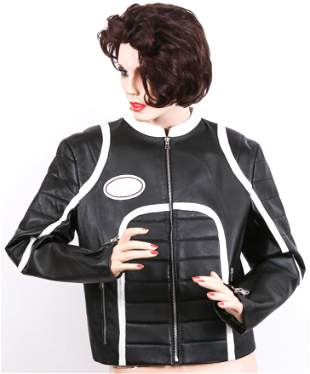 WOMEN'S BLASTING RACING LEATHER JACKET