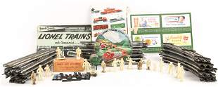 LIONEL TOY TRAIN ACCESSORIES - TRACKS STICKERS SOLDIERS
