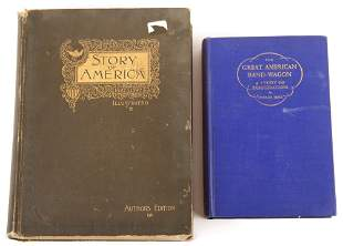 LATE 19TH AND EARLY 20TH C. AMERICAN BOOKS - LOT OF 2