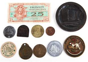 MILITARY & CIVILIAN TOKENS AND MEDALLIONS ESTATE LOT