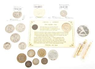 SILVER COIN COLLECTION - U.S. FOREIGN COMMEM. ETC