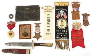 CIVIL WAR VETERAN ARCHIVE OF CORPORAL ALFRED STAFFORD